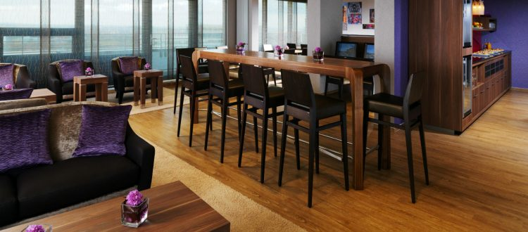 Club-Lounge Sheraton Muenchen Arabellapark Hotel