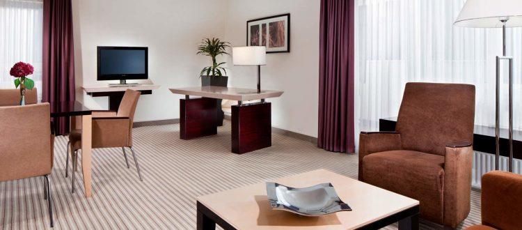 Room Sheraton Muenchen Arabellapark Hotel