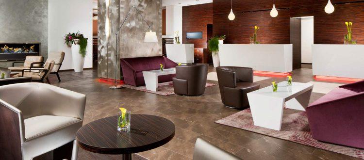 Lobby Sheraton Muenchen Arabellapark Hotel